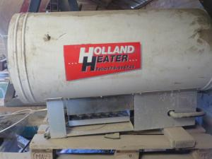 Holland Heater,  aardgaskachel 80 kW.