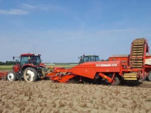 Grimme GZ1700 DL 1 wagenrooier