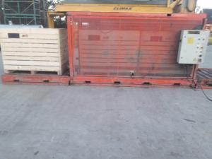 Geschikt voor de 1300 kg houten kisten of kleiner.